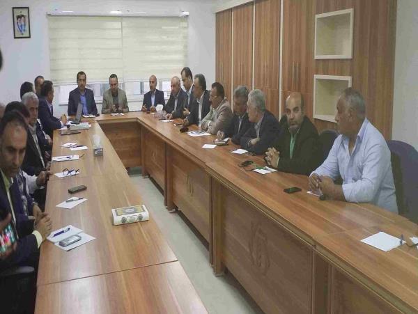 برگزاری جلسه بازنگری در طرح تشکیل صندوق حمایت از توسعه بخش کشاورزی مازندران + تصاویر